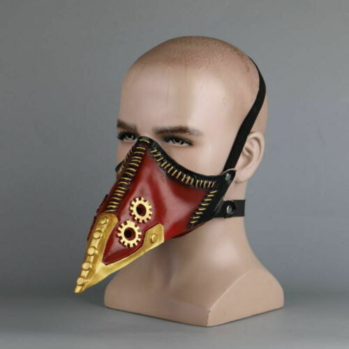 Anime My Hero Academia Overhaul Mask Cosplay Kai Chisaki Crow Mouth Mask Props