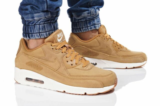 online retailer 9efcd fdb71 Nike Air Max 90 Ultra 2.0 LTR Flax-Sail-Gum Medium Brown 924447 200