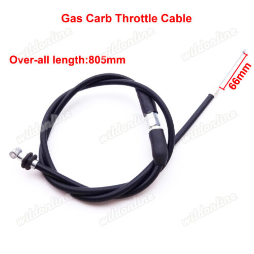 Carburetor Gas Throttle Cable Chinese 49cc 50cc 70 90cc 110cc Kids Mini ATV Quad