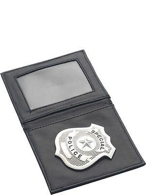 Fancy Dress Police Cop Warrant Card Wallet & Badge - 34040