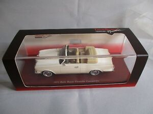 Ta264 Tsm Model Rolls Royce Corniche Convertible 1971 1/43 Tsm104323 Neuf