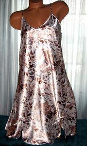 White-Tan-Gray-Floral-Chemise-Short-Gown-1X-2X-3X-Plus-Size-Adjustable-straps
