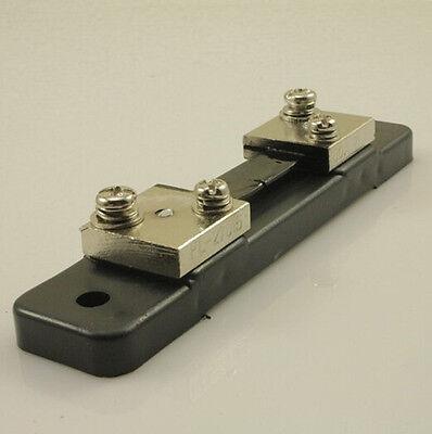 Neu FL-2 DC 75mV 50A Current Shunt Resistor für Amperemeter Panel Meter DE
