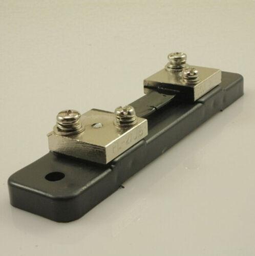 FL-2 DC 75mV 50A Current  Hot Sale Shunt Resistor for Ammeter Panel Meter Hot