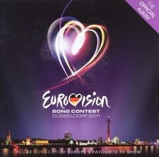 EUROVISION SONG CONTEST - DÜSSELDORF 2011 * NEW 2CD'S * NEU *