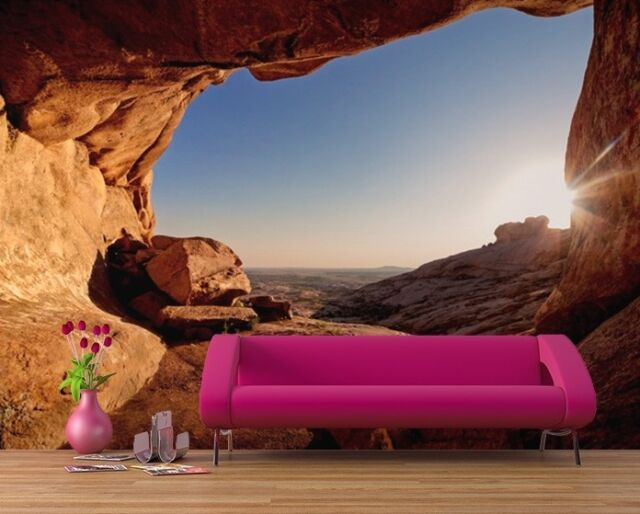 WALLPAPER MURAL PHOTO Red Canyon GIANT WALL DECOR PAPER POSTER LIVING ROOM