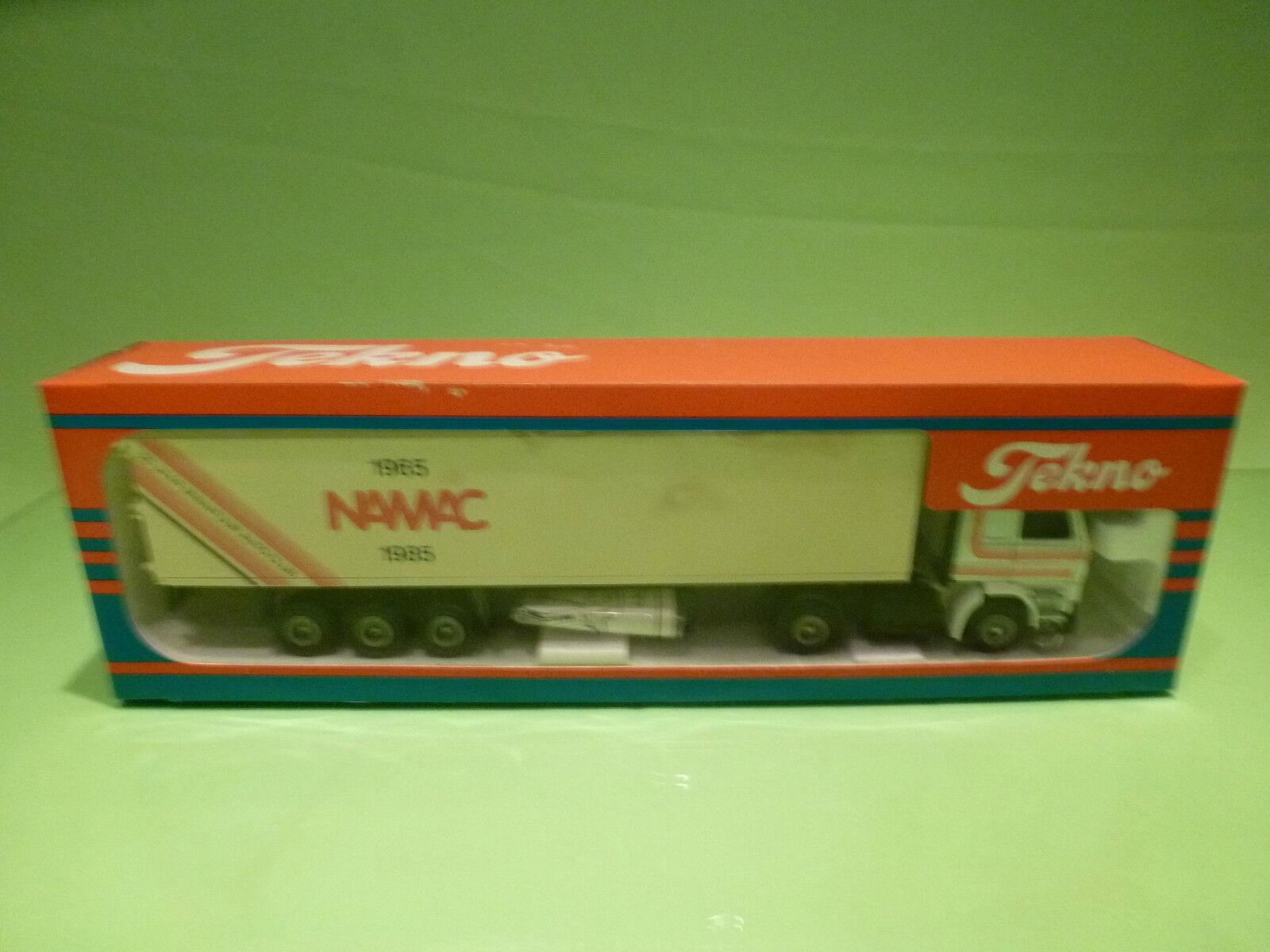 TEKNO DENMARK SCANIA 142H - NAMAC 1965 1985 - RARE SELTEN - GOOD COND. IN BOX
