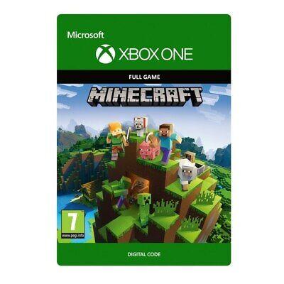 Minecraft XBOX ONE digital Key CODE  885370829884 | eBay