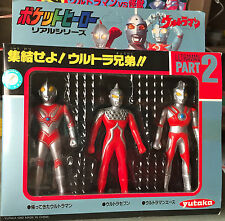 ULTRAMAN MINI FIGURE PART 2 YUTAKA POCKET HEROS JAPAN 1992 ULTRASEVEN ACE