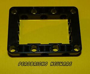 LEGO® 2 x Technic Liftarm Block 5 x 7 schwarz NEU #64179