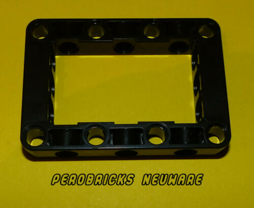 Lego Technic Technic Liftarm 5 x 7 Open Center Frame Thick Black #64179 NEW
