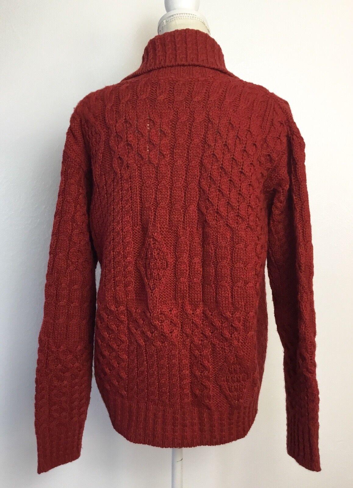 Aran Crafts Crafts Crafts Knit One Button Cardigan Ireland 51e333