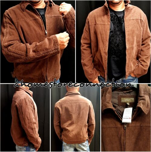 NWT MENS BKE BROWN ZIP UP JACKET COAT FROM BUCKLE ROCK REVIVAL STORE~XL X-LARGE