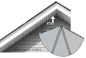 Stop Birds Nesting at Eaves with Neststop® Harmless To Birds Nest Prevention