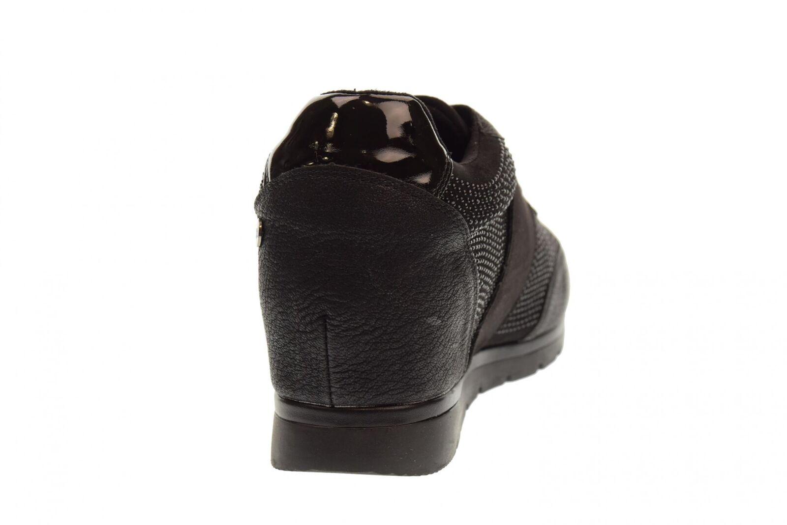Xti A18g Schuhe Frau Turnschuhe mit Keil 48267 schwarz    | Modern Und Elegant In Der Mode  660353