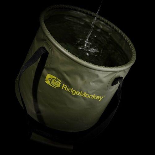 10ltr or 15ltr RidgeMonkey Ridge Monkey V2 Collapsible Water Bucket