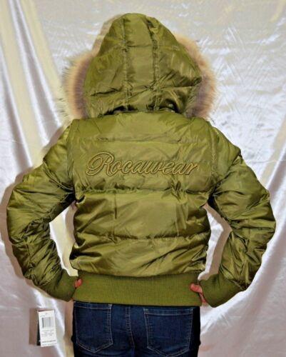 Women/'s Rocawear Jr Avocado Sleeveless Jacket