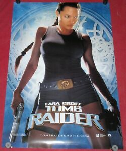 Lara Croft Tomb Raider Movie Poster 27x40 D S Glen Angelina Jolie