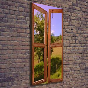 Details Zu Leinwand Bild Kunstdruck Hochformat 50x125 Bilder Landschaft Fenster