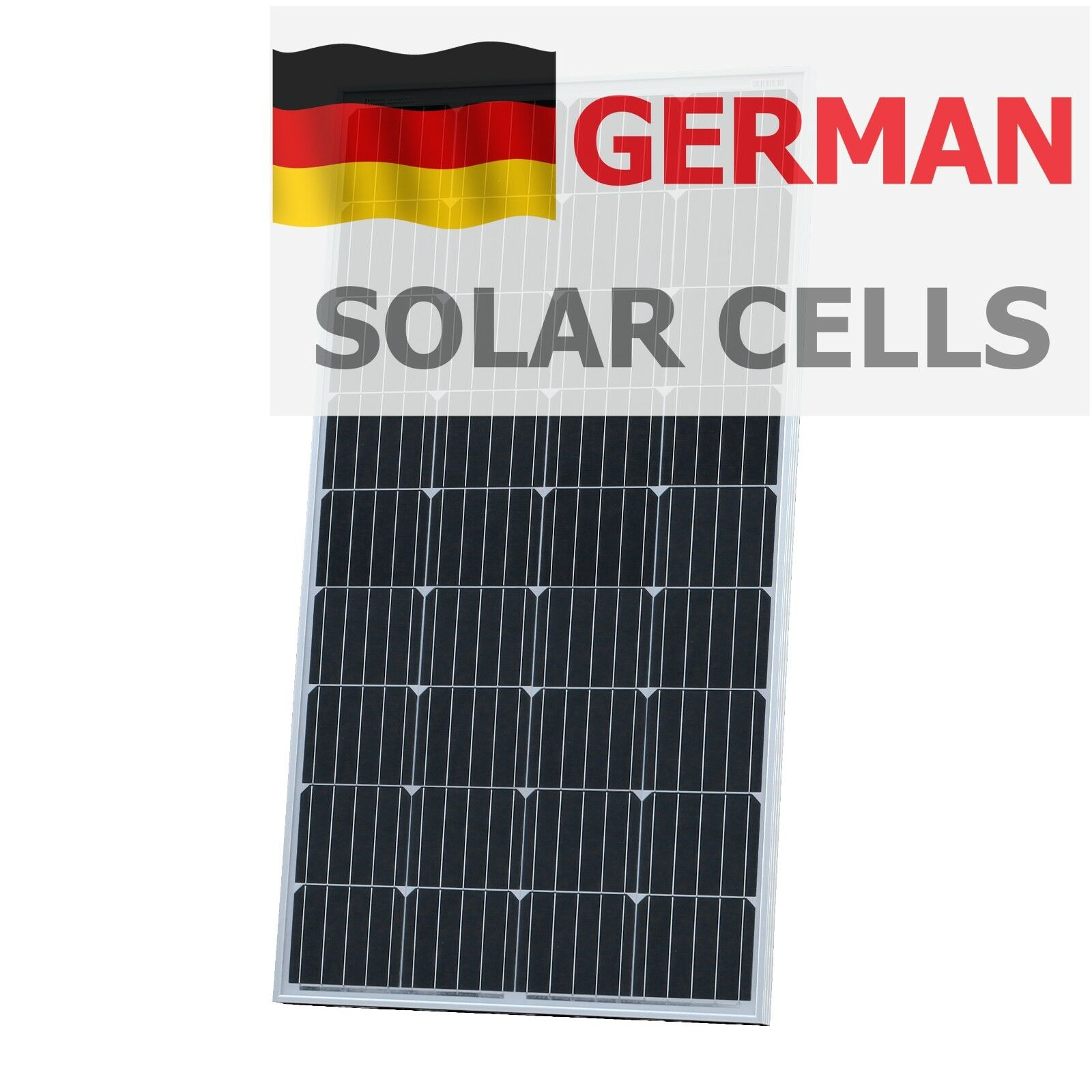 150W 12V solar panel with 5m cable for camper   caravan   boat 150 watt module