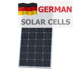 150w 12v Solar Panel With 5m Cable For Camper Caravan Boat 150 Watt Module 5060297340765 Ebay