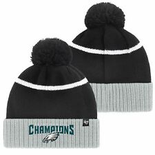 item 1 Philadelphia Eagles NFL Super Bowl LII Champions Knit Hat with Pom   47 Brand - Philadelphia Eagles NFL Super Bowl LII Champions Knit Hat with  Pom  47 ... b8c0b9620be8b