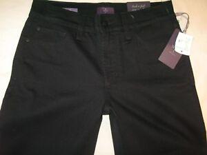 Nydj Rise Corto Ariel High Nuovo 30 Msrp Eu Usa 0 Jeans Nero Taglie awfarnqI