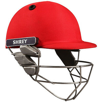 *NEW* SHREY PRO GUARD CRICKET BATTING HELMET, STAINLESS STEEL GRILL / VISOR