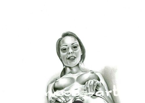 "Nude Art Print Of The Original  /"" MeCos.Art /""  DIN A3-226"