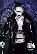Suicide Squad Movie Poster (24x36) - The Joker, Jared Leto, Harley Quinn v14