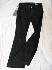 7 SEVEN for all MANkiND Damen Jeans Stretch Denim W27/L34 low waist flare leg