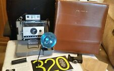 Vintage Polaroid 320 Instant Film Folding Land Camera