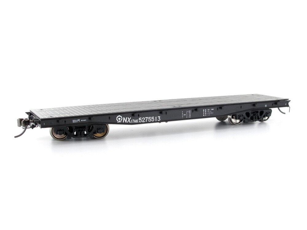 CMR-line tx015b009 Freight Wagon Flat Wagon nx17ak No. 5275513 CR h0