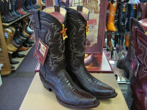 Struisvogelbeen Bruin Snip Toe Altos Cowboy Bootee940507 Los Western Genuine VqpUMSz