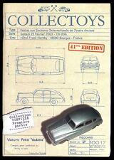 COLLECTOYS  41 eme  vente de jouets anciens    15 février 2003