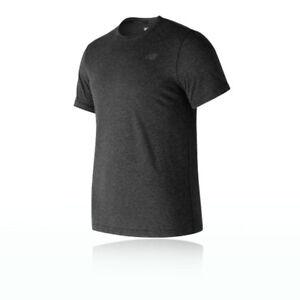 3cf50936e3c La imagen se está cargando New-Balance-Heather-Tech-Hombre-Camiseta -Top-Correr-