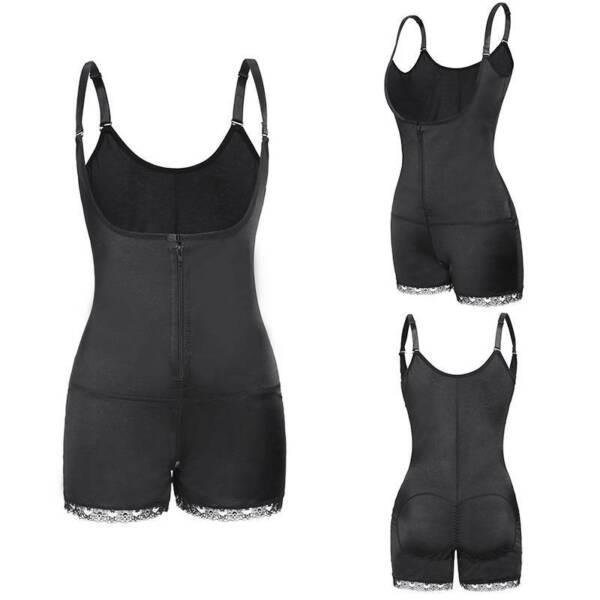 Damen Seamless Bauch Kontrolle Fit Shapewear Bodysuit Mieder Korsett Body Shaper