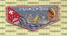 BSA OA LODGE 363 MA I SHU SNAKE RIVER COUNCIL S-68 FLAP