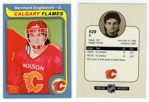 Bernhard Englbrecht Calgary Flames EV Landshut EHC Essen selbstgemacht selten