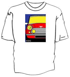 Austin Mini 1968 Original Pop Art Style t-shirt