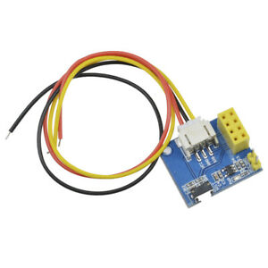 Details about ESP8266 ESP-01 ESP-01S RGB LED IDE WS2812 Controller Adapter  Module for Arduino