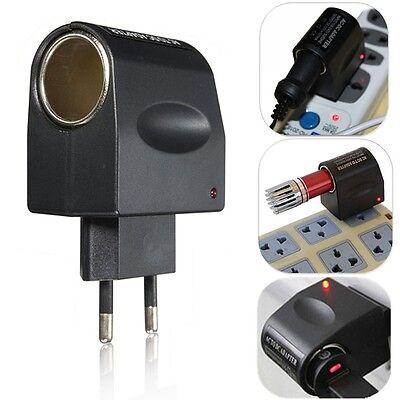 220V AC to 12V DC Auto KFZ Zigarettenanzünder Stecker Adapter Konverter XIA