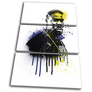 Details about Kevin Hart Grunge Urban Iconic Celebrities TREBLE CANVAS WALL  ART Picture Print