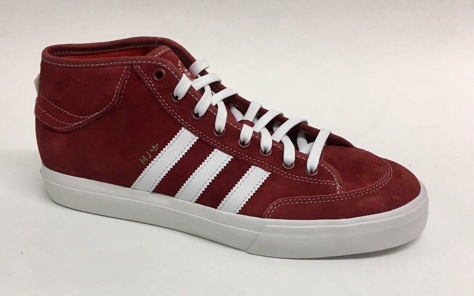 Adidas matchcourt mediados de Marc Johnson MJ comoda Rojo cg5670 Skateboard Shoe comoda MJ marca de descuento 00272e