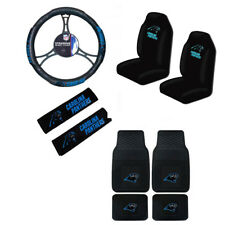 Item 5 New NFL Carolina Panthers Car Truck Seat Covers Steering Wheel Cover Floor Mats