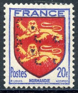 STAMP-TIMBRE-FRANCE-NEUF-N-605-BLASON-NORMANDIE