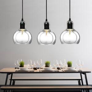 Kitchen Pendant Lighting Clear Glass Pendant Light Bar Lamp Home Ceiling Lights 6165439592503 Ebay