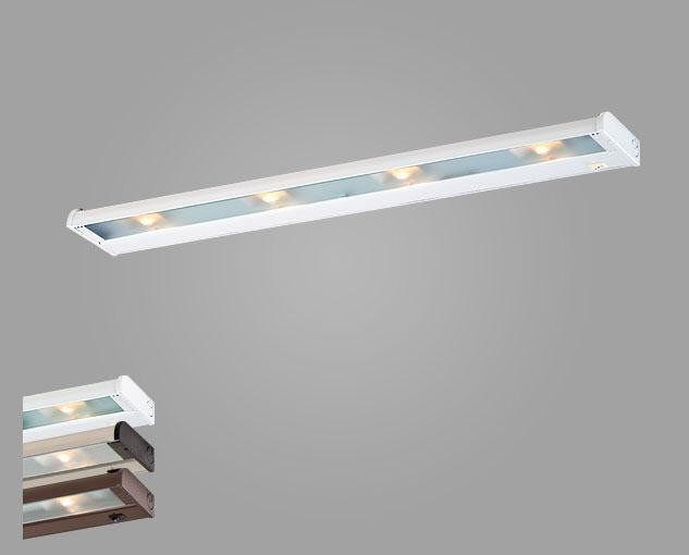 Csl Lighting ncax-120-32ss Acero Inoxidable 32   4 Luz Xenon En virtud de la luz del gabinete