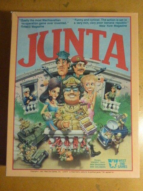 Junta vollständig von west end games