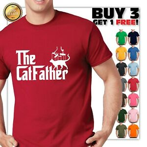 The-CatFather-T-Shirt-Cat-Dad-Pet-Lover-Gift-Ideas-Fathers-Day-Daddy-Tee-Shirt